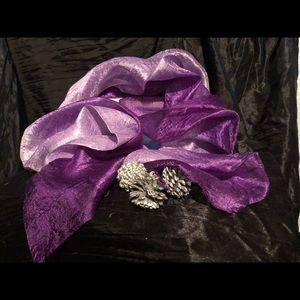 Accessories - 100% silk scarf NWOT